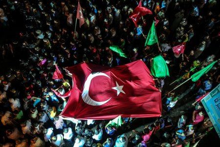 Worldwide protests against coup attempt in Turkey