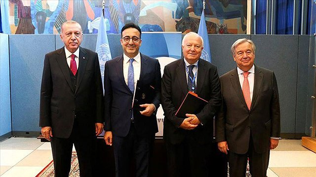 Turkish Airlines, UN launch 'sports for peace awards'
