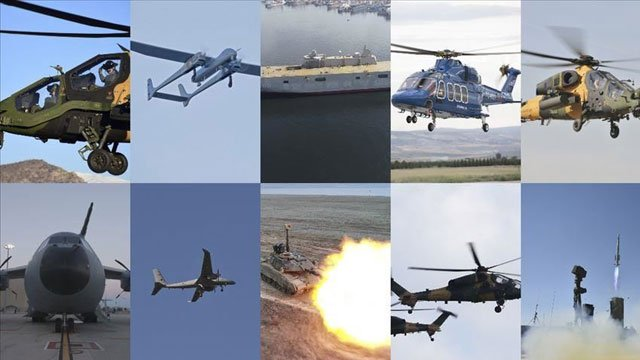 Turkey's defense sector makes strong showing in 2019